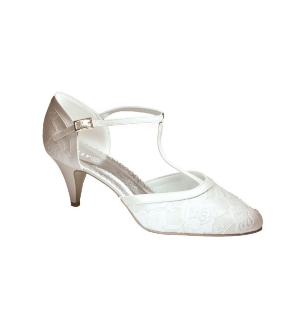 Lilly Brautschuhe Shoes (07-1997-CR) - The Beautiful Bride Shop