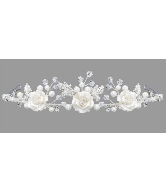 Emmerling Tiara 18152 - The Beautiful Bride Shop