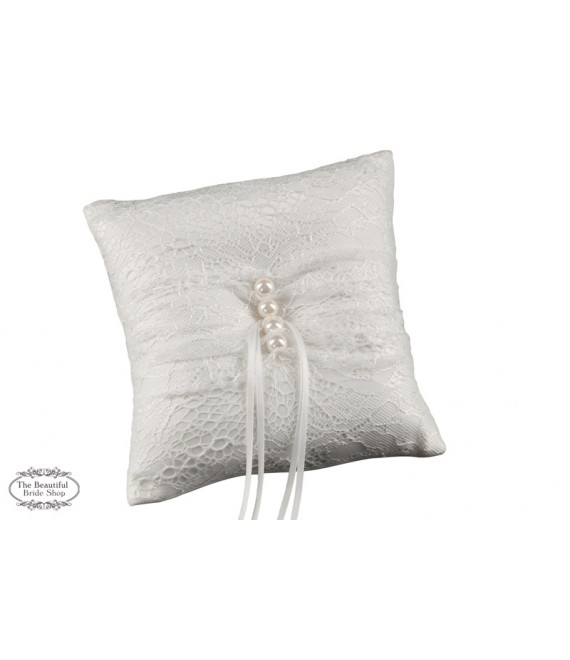 Lace ring cushion 843916 Weise - The Beautiful Bride Shop