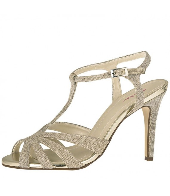 Rainbow Club Brautschuhe Annabel Gold -  The Beautiful Bride Shop 1