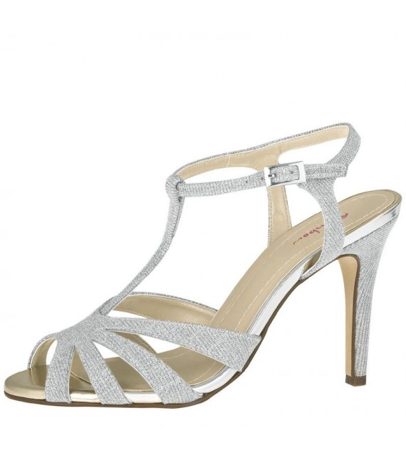 Rainbow Club Brautschuhe Annabel Silver - The Beautiful Bride Shop 1