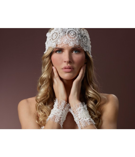 Poirier Bandana BB-206 - The Beautiful Bride Shop