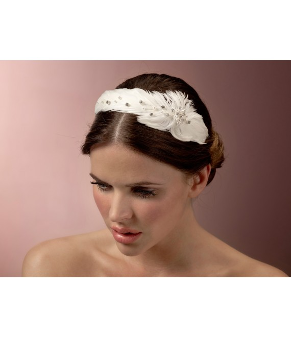 Feder-Diadem BB-510 Poirier - The Beautiful Bride Shop