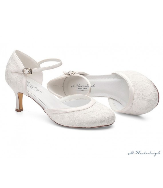 Brautschuhe Daisy -  G. Westerleigh 1 - The Beautiful Bride Shop