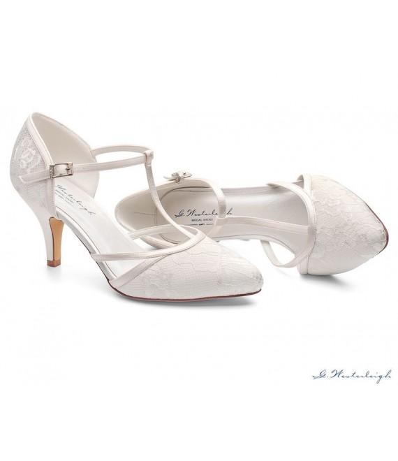 Brautschuhe G.Westerleigh Jamine 1 - The Beautiful Bride Shop