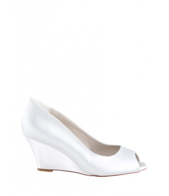 Wedding Shoes Flora Satin - The Perfect Bridal Company | The Beautiful Bride Shop 1