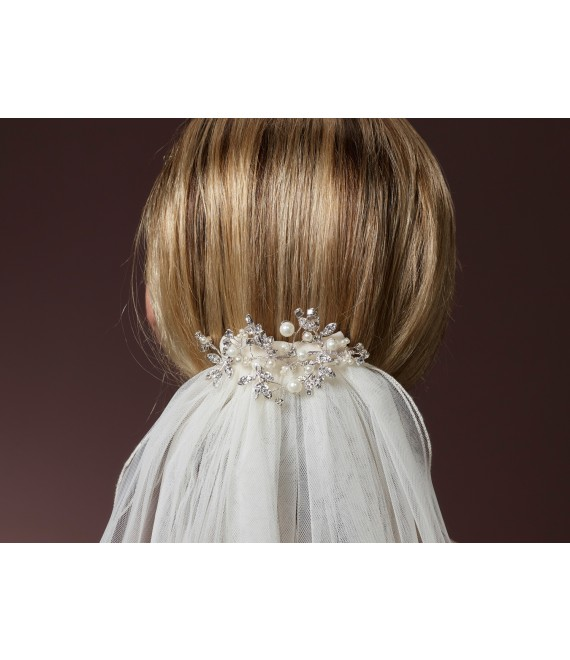 Schleier Clip C-1630 Poirier - The Beautiful Bride Shop