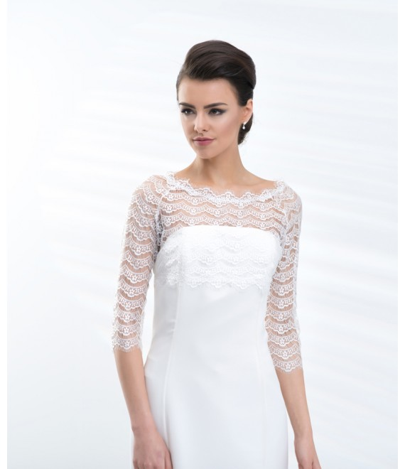 Bolero E201 - The Beautiful Bride Shop