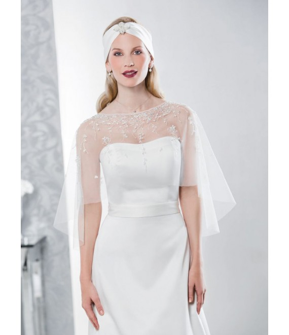 Emmerling Poncho 17060 - The Beautiful Bride Shop