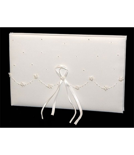 Gästebuch Beade Wave WS-01 Wedding Collection Weddingitems - The Beautiful Bride Shop