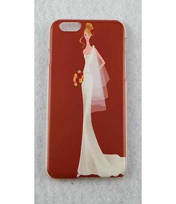 Beautiful Bride Case iPhone 5 / 5s und 6 - Rot - The Beaiutidul Bride Shop