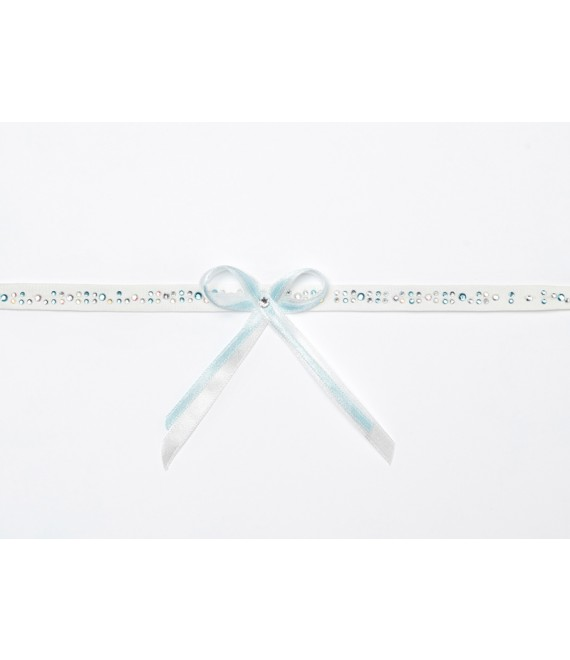 Strumpfband mit Strass KB-23 Poirier- The Beautiful Bride Shop
