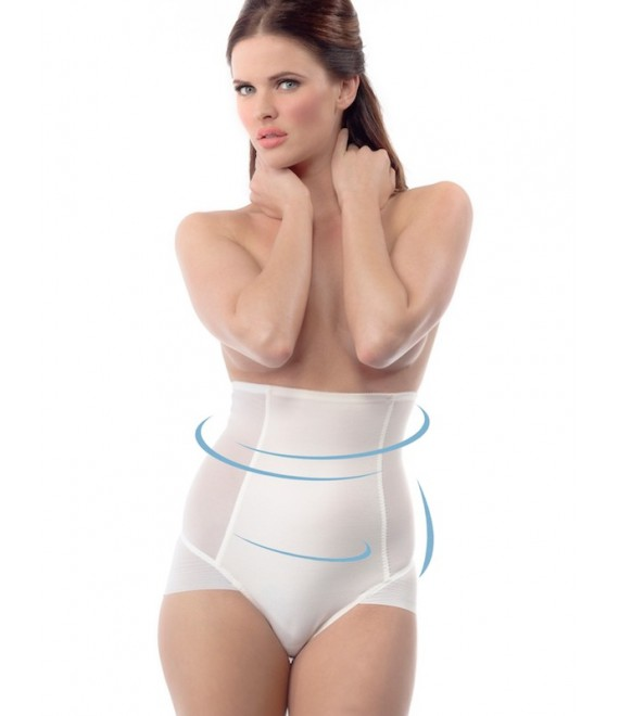 High Waist Control Short MP-44 Poirier - The Beautiful Bride Shop
