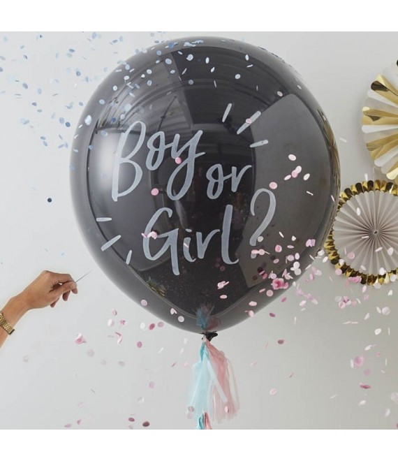 "Riesen Luft-Ballons ""Boy or Girl"" 