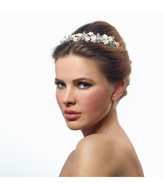 Luxuriöse Diadem - Poirier BB-636 - The Beautiful Bride Shop 1