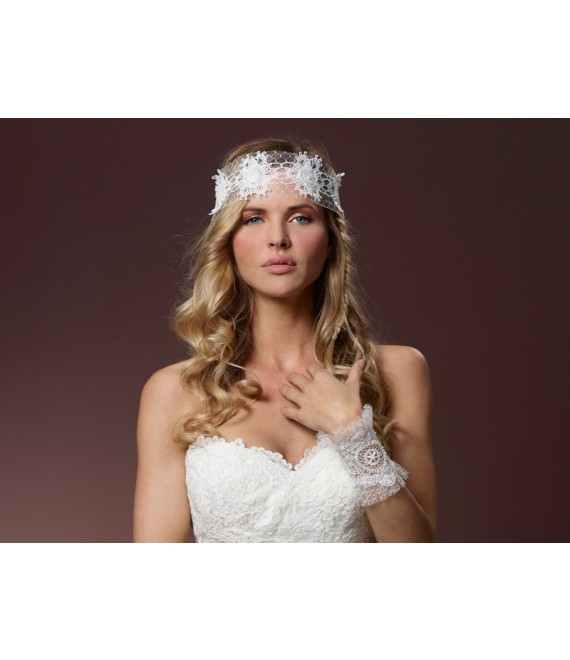 Poirier Bandana BB-205 - The Beautiful Bride Shop