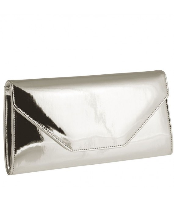 Rainbow Club Envelope Clutch Saskia Silber-Mirror