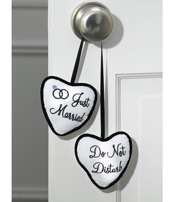 Just Married / Do Not Disturb Türhänger - The Beautiful Bride Shop