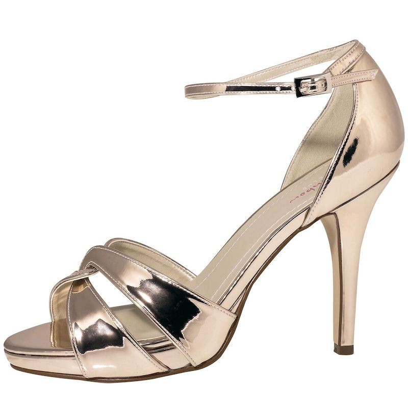 the latest ee7a2 be65e Rainbow Club Brautschuhe Cate Rose-Gold