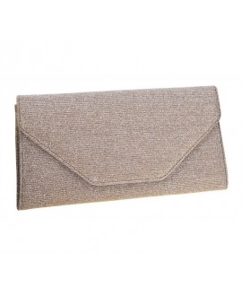 Rainbow Club Clutch Saskia Gold-Metallic