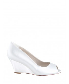 The Perfect Bridal Company Brautschuhe Flora Satin