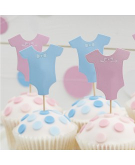 Baby Grow Cupcake Toppers (kleiner Stecher)