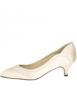 Rainbow Club Brautschuhe Hollie Ivory Satin