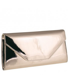 Rainbow Club Clutch Saskia Rose-Gold