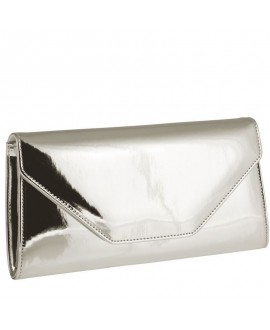 Rainbow Club Clutch Saskia Silber-Mirror