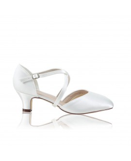 The Perfect Bridal Company Brautschuhe Renate Satin