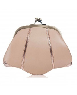 Rachel Simpson Brauttasche Clutch Mia Rose Gold