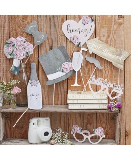 Photo booth props - Rustic Country